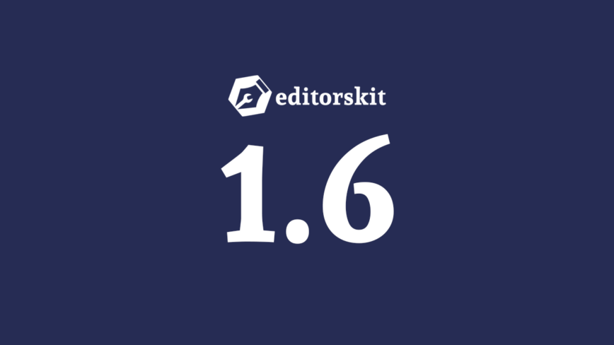 Gutenberg Editor Markdown Support, Clear Formatting, Subscript & Superscript Formats, Toggle Title and more in EditorsKit 1.6