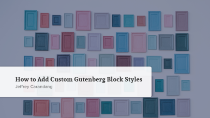 How to Add Custom Gutenberg Block Styles